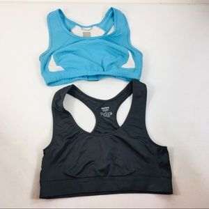 North Face & Morera two sports bras size large GUC
